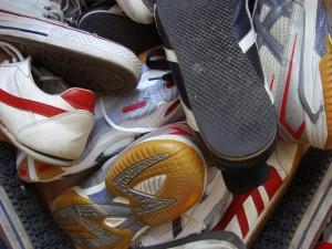 Sauber soll's sein. Also gibt's jetzt härtere Schuhkontrollen beim Unisport. Foto: C.Zappe