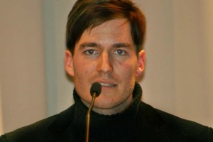 """Der Literaturwissenschaftler Oliver Ruf rief den Wettbewerb """"Literatur von der Ruhr"""" ins Leben. Foto: Mareike Maack"""