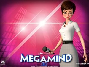 Auch die Frauen spielen eine Rolle: Die schöne Reporterin Roxanne verdreht nicht nur Megamind den Kopf. Filmplakat: Dreamworks