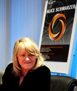 Deutschlands Feministin Nr. 1 ist und bleibt Alice Schwarzer / Foto:C.Hahn