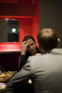 """Rocko Schamoni im Interview. """"Alkohol ist erkenntnisfrei."""" Foto: Moritz Tschermak"""
