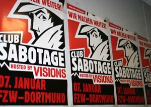 Club Sabotage, FZW, VISIONS; Foto: Anna Hückelheim
