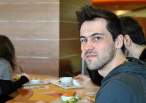 """Nicolas Luck: """"Ich esse sehr gern vegan, aber etwas mehr Auswahl wäre schön"""""""