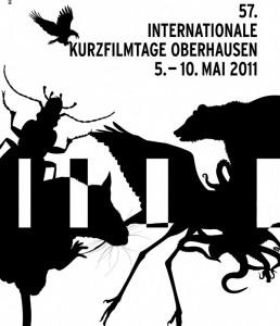 Die Filme des Festivals widmen sich unterschiedlichsten Themen, in einem gesonderten Programm wird aber besonders auf Tiere eingegangen. Poster: Internationale Kurzfilmtage Oberhausen