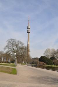Westfalenpark mit Florianturm: eines der Wahrzeichen Dortmunds. Foto: Cathérine Wenk