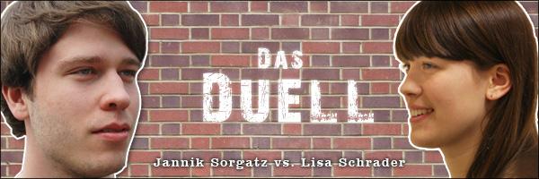 Das Duell: Jannik versus Lisa
