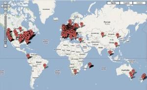 Die Dead Drops-Weltkarte. Quelle: deaddrops.com
