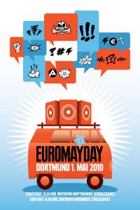 Das Plakat zur Euromayday im letzten Jahr. Bild: Veranstalter