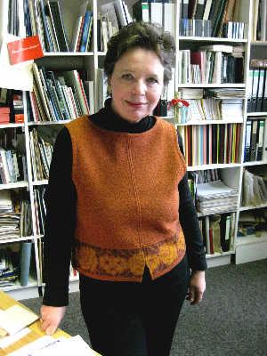 Gisele Framke ist stellvertretende Direktorin des Museums für Kunst- und Kulturgeschichte und arbeitet dort seit 1984. Foto:konzeptschmiede-do