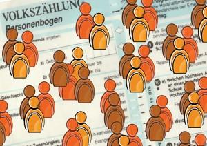 Volkszählung: Selbst Verwandte von Angestellten der Verwaltung befragen mit. Foto:pixelio/Gerd Altmann