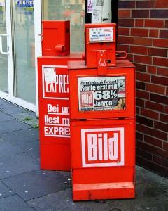 Gerüchte werden von allen Medien in die Welt gesetzt. Ob TV, Radio oder Online. Die spekulativsten Schlagzeilen hat jedoch die BILD-Zeitung. Foto:Redvers/flickr.com