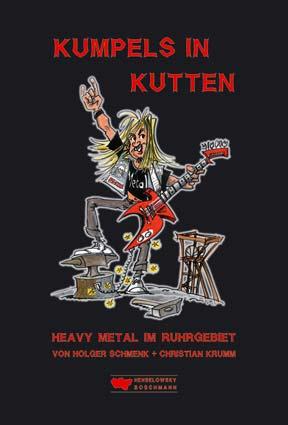 """Buchcover """"Kumpels in Kutten - Heavy-Metal im Ruhrgebiet"""""""