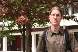 Lars Koppers, Fachschaftsbeauftragter und Mitglied der eLuSt, Foto: Laura Millmann