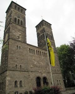 Hier fing alles an: Die Dreifaltigkeitskirche am Borsigplatz. Foto: Birte Möller