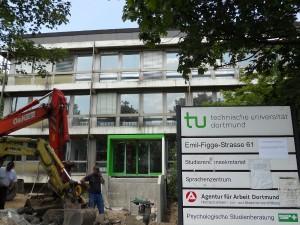 Das Sprachenzentrum der TU Dortmund, Foto: Laura Millmann