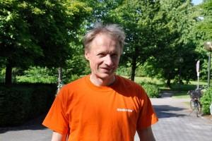 Thomas Hoffmann läuft seiner Schulzeit und besitzt einen Lauftrainerschein. Foto: Emmanuel Schneider