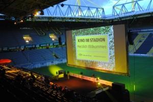 """""""Kino im Stadion"""" soll zur Institution werden. Foto: Sabine Knodt"""