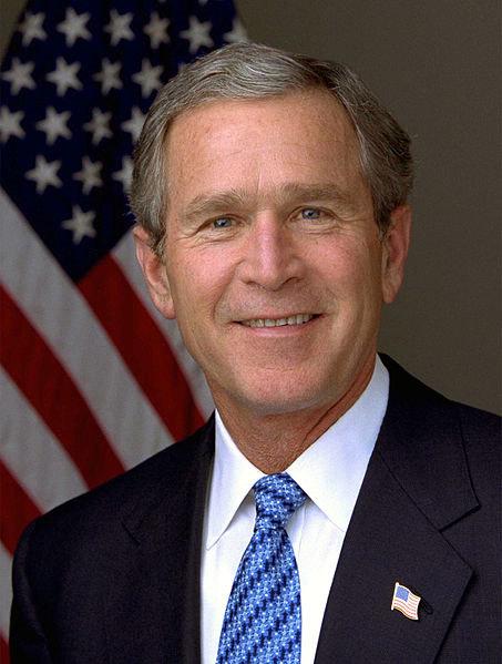 Bei den Memoiren geschummelt? Der ehemalige US-Präsident George W. Bush hat in Erlebnisse beschrieben, bei denen er gar nicht dabei war.  Foto: White House/ Eric Draper.
