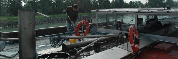 Urlaub war das Schiff-Tramping nicht: Außer das Deck schrubben musste Holger zum Beispiel in der Kajüte stehen.