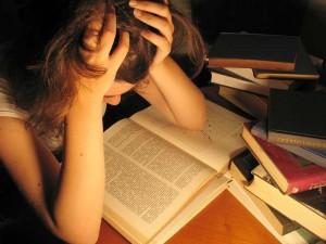 Viele Studenten sind mit dem Lernstress überfordert. Die psychologische Studienberatung kann ihnen weiterhelfen. Foto: Hanna Zimmermann