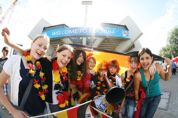 Fans sorgten bei der U20-Weltmeisterschaft im letzten Jahr für Stimmung. Foto: Lutz Leitmann/Stadt Bochum, Presseamt