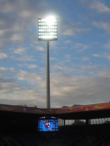 """Flutlicht-Atmosphäre: """"Es ist ein tolles Gefühl, so eine WM vom Anfang bis zum Ende mitzuorganisieren"""", sagt Johannes Hein. Foto: flickr / Like_The_Grand_Canyon."""
