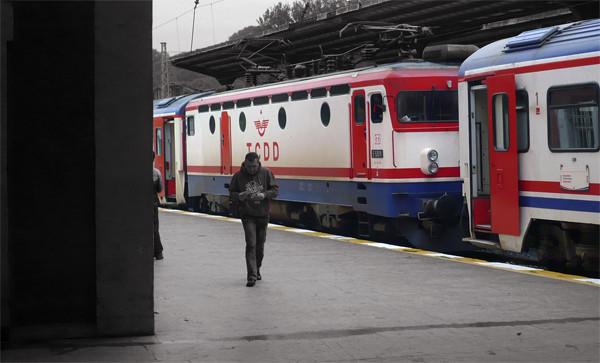 Der Bahnhof von Istanbul war Startpunkt hunderttausender Gastarbeiter. Foto: Christian Teichmann