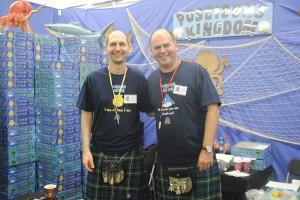 Die schottischen Brüder Fraser und Gordon Lamont wählten als Name für ihre gemeinsame Firma eine Mischung ihrer beiden Vornamen: Fragor Games. Foto: Tanja Denker