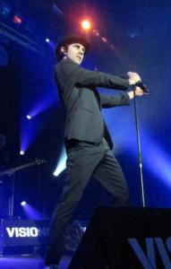 Ist die wohl coolste Sau der Welt: Sänger Paul Smith. Foto: Birte Möller