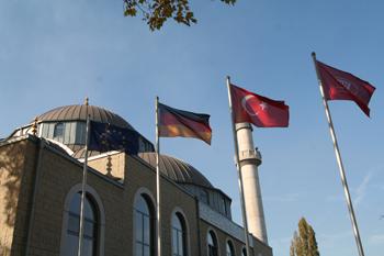 Die Moschee von Duisburg-Marxloh. Foto: Christian Teichmann