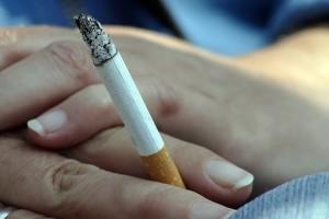 Zigarette vergessen