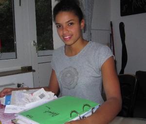 Studentin Alex hätte gerne eine Steuererklärung abgegeben. Foto: Birte Möller