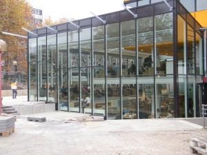 Der neue Wintergarten von Außen. Foto: Judith Merkelt