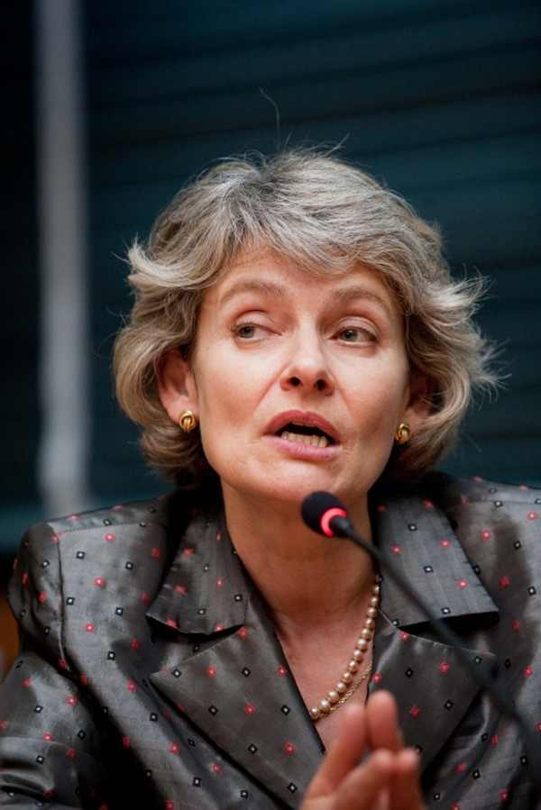 Die Bulgarin Irina Bokowa ist seit 2009 Generaldirektorin der UNCESCO. Eine Besonderheit der UNESCO ist, dass jeder Staat eine Stimme hat und es kein Veto-Recht gibt. Foto: flickr.com/Ministério da Cultura