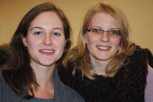 Schule, Uni oder VHS? Rebecca Baynton legt sich noch nicht fest. Ulrike Engelkamp will auf jeden Fall in die Schule.