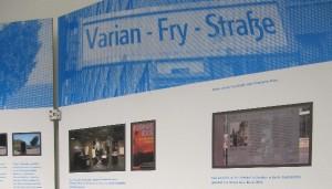 Seit 1997 gibt es die Varian-Fry-Straße in Berlin. Foto: Birte Möller