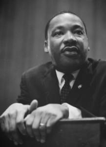 """Er zählt in der Weltöffentlichtkeit als einer der wichtigster Kämpfer gegen Rassismus. Seine wohl berühmteste Rede beginnt mit dem legendären Satz: """"I have a dream..."""". Foto: flickr.com/Mike Licht"""