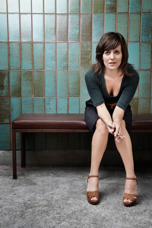 """Begonnen hat Sarah Kuttner ihre Karriere im Radio. Nach ihrer Zeit als Moderatorin verfasste sie ihren ersten Roman """"Mängelexemplare"""". Foto:Marcus Höhn."""