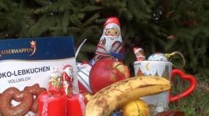Süße Weihnachtsartikel heben im Winter die Stimmung. Foto: Henrike Fischer