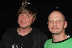 Alexander Schwegl (l.) und Florian Biedermann (r.) dokumentieren seit 14 Jahren den Alltag.