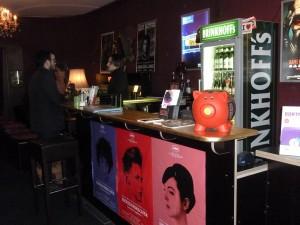 Der Eingangsbereich des Roxy Kinos lädt in eine Zeit zurück in die Vergangenheit ein. Foto: Sandra Calvo Pastor