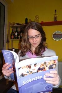 Debora lernt Deutsch. Foto: Joanna Pietryka