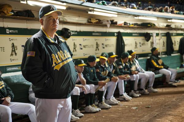 Am Spielfeldrand herrscht keine gute Stimmung beim Trainer und den Spielern der Oakland A's. Fotos: Sony Pictures Releasing GmbH