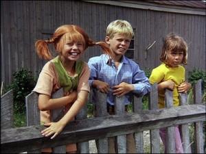 """Pippi ist das stärkste Mädchen der Welt. Auch für ihre Freunde. Bild: """"Gesund werden mit Astrid Lindgren"""" Universal Home Entertainment"""