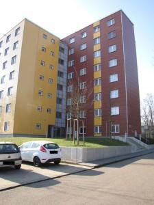 """Die Wohnheimanlage """"Am Gardenkamp"""" soll durch das neue Wohnheim ergänzt werden. Foto: Yvonne Grote-Kus"""