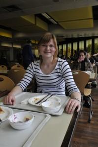 """Susanne Pahl nennt sich selbst """"Allesesserin"""". Foto: Lara Enste"""