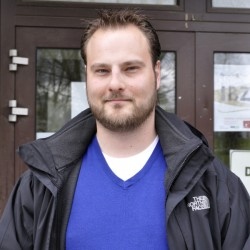 Der AStA-Vorsitzende Marc Hövermann war trotz der mäßigen Teilnehmerzahl zufrieden.