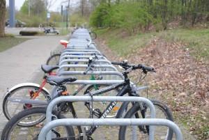 Keine Fahrradfreaks im Pott? Für das Radeln zum Campus muss an den Ruhr-Unis geworben werden. Foto: Julia Bömer