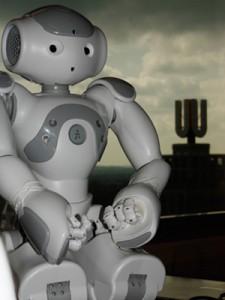 Die fußballspielenden Roboter sind bereits Vizeweltmeister. Jetzt werden sie auch noch Filmstars.
