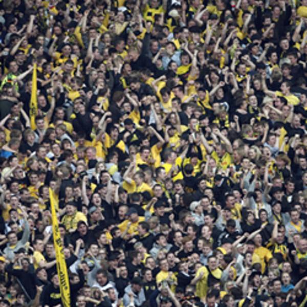 BVB-Fans auf der Südtribüne